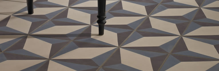 Design For Me Loves Geometric Encaustic Patterned Tiles