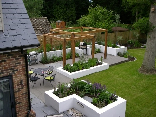Garden design ideas by dfm landscape designers for Garden design decking areas
